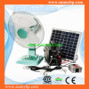 12V Portable Solar Energy System with Rechargeable Stand Fan (SBP-PSP-03)