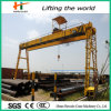 10 Ton Portable Gantry Goliath Crane Seaport Crane