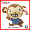 Plush Sitting Monkey with Soft Material
