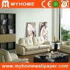 Light Color Wallpaper for Living Room