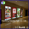 Advertising LED Display Menu Board for Sign with Picture Light
