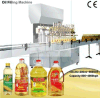 Piston Filler Oil Bottling Machine Edible Oil Bottling Plant