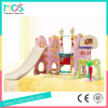 Indoor Plastic Playard with Slide Swing and Football and Basketball (HBS17029B)