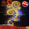 LED Flower Middle East National Day Celebration Street Pole Decorative Light for Outdoor