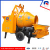 Pully Manufacture Electric Trailer Concrete Mixer Pump for Sale