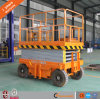 8m Four Wheels Movable Trailer Aerial Working Scissor Working Table for Sale