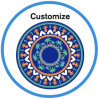Wholesale Round Beach Towels with Logo