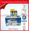 Colorful Spray Snow for Christmas and Party Decoration