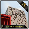 Decorative Metal Sheet Aluminium Perforated Curtain Wall Cladding