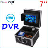 Underwater Surveillance Camera 7′′ Monitor DVR Video Recording 7p3