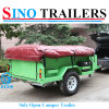 Annex Room Camper Box Trailer for Travel