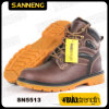 Genuine Leather Ankle Safety Boot with Steel Toe (SN5513)