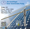 5inch Centrifugal Solar Power Submersible Pump, Solar Irrigation