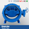 Double Flanged Eccentric Butterfly Valve