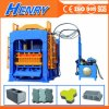Henry Industrial Qt4-15 Building Material Brick Machine, Concrete Block Making Machine Construction Machinery