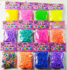 Glitter DIY Loom Bands/ Rainbow Loom