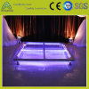 1.22m*1.22m Transparent Tempered Glass Stage Equipment Plexiglass Aluminum Simple Acrylic Stage