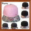 Custom Floral Peak Snapback Hat