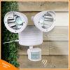 Outdoor Dual Head 22LED Solar Motion Sensor Security Light