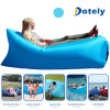 Inflatable Lazy Air Bag Camping Lounger Sofa Sleeping Bag Beach