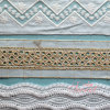 Multi Material Lace Fabric Trim