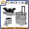 Aluminum Makeup Beauty Trolley Case (HB-3223)