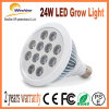 24W Vegetable Bloom Switchable Full Spectrum E27 LED Grow Light