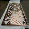 Room Divider Singapore Stainless Steel Screen Designed Wall Panel Rose Gold Color Mat Finish