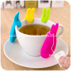 Cute Rabbit Hang Tea Bags Silicone Tea Bag Mat