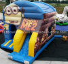Factory Price Inflatable Minion Combo Inflatable Bounce House Slide, Inflatable Fun City