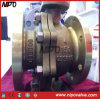 Aluminium Bronze C95800 Flanged Floating Ball Valve