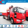 6X4 Faw Heavy Duty Truck with Crane for Sale