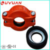 Ductile Iron Grooved Pipe Fittings and Reducing Couplings for Building Project