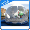 PVC Clear Giant Christmas Inflatable Snow Globe