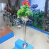Enterprise Exhibition Hall Metal Flowerpot Custom Stainless Steel Garden Decoration Flower Pot