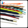 Custom Printed Logo Braided Cotton Shoelaces Flat Laces Round Laces
