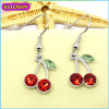Customized Stylish Red Cherry Earring