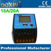 LCD Display 5V 2A USB Outlet 10A/20A Solar Charge Controller
