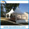 Aluminum Frame PVC Covering Gazebo 6X6m Pagoda Tent