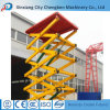 Construction Lift Used Hydraulic Scaffolding with Safe Guardrail