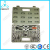 40PC HSS Metric SAE Combination Tap and Die Set