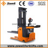 Zowell New Hot Sale Ce/ISO90001 1.5 Ton Wrap Over Electric Stacker (1.6m-4.5m)