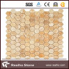 Honey Onyx Hexagon Mosaic for Wall