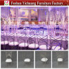 Fancy Wedding Metal Cross Back Chair with Moveable Seat Cushion Yc-As47-1