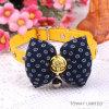 Customize Cat Collars Bowtie Lace Nylon PU Pet Collars Leash