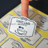 High Quality Customized Vinyl Adhesive Coated Paper Label Sticker Printing