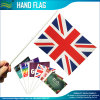 Eco-Friendly Printed Polyester Paper PVC Hand Stick Flag
