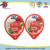 Embossed and Printed Aluminium Foil Lids for Yoghurt