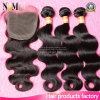 Indian Virgin Hair with Closure Body Wave 3 Bundles with Closure Facebeauty Hair with Closure Bundles Human Hair with Closure