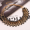 Fashion Full Star Designer Acrylic Choker Necklace Jewelry